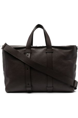 Orciani Micron leather tote bag