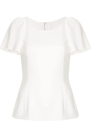 Dolce & Gabbana Ruffled sleeve top