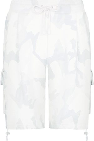Dolce & Gabbana Camouflage-print knee-length shorts