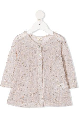 Caffe' D'orzo Baby Blouses - Melissa metallic-thread blouse