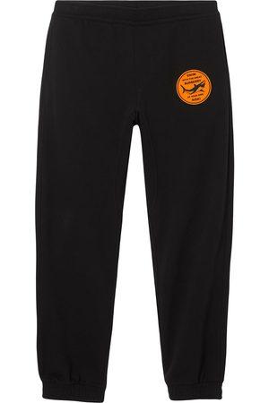 Burberry Shark-appliqué track pants