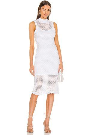 525 America Sleeveless Midi Dress in
