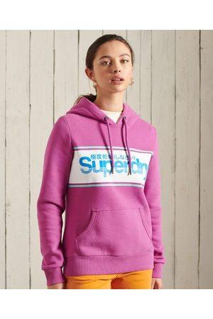 Superdry Klassieke hoodie met Core-logo