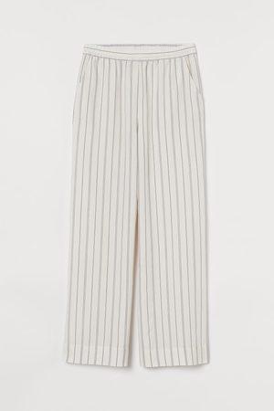 H&M Wijde pyjamabroek van lyocell