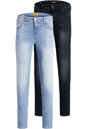 Jack & Jones Heren Skinny - 2-pack Liam Original Agi Skinny Jeans Heren Blauw
