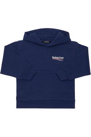 Balenciaga Meisjes Sweaters - Cotton Sweatshirt Hoodie