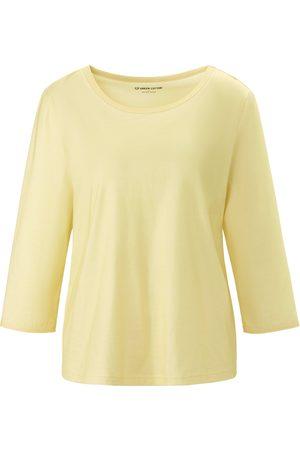 Green Cotton Shirt 100% katoen ronde hals en 3/4-mouwen Van