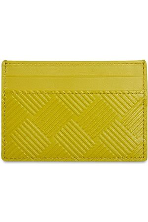 Bottega Veneta Heren Portemonnees - Intreccio Debossed Leather Card Case