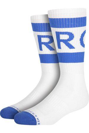 Heroes on Socks Heren Ondergoed - Hero vintage sport blauw &