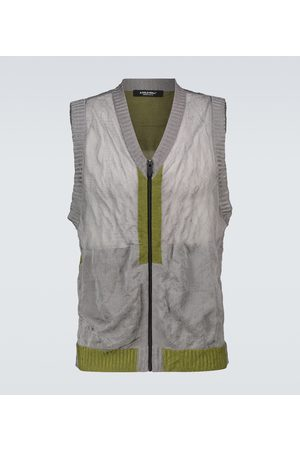 A-cold-wall* Heren Bodywarmers - Core knitted gilet