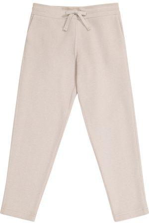 Loro Piana Meisjes Joggingbroeken - Horsey cotton fleece sweatpants