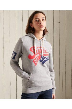 Superdry Dames Hoodies - Collegiate Cali hoodie met grafische afbeelding en loopback-stof