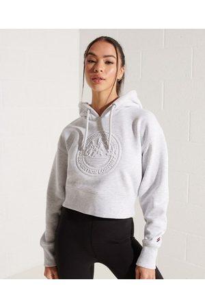 Superdry Dames Hoodies - Expedition hoodie met reliëfopdruk en wijdvallende pasvorm