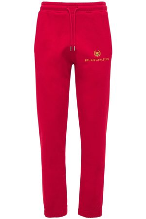 BEL-AIR ATHLETICS Heren Joggingbroeken - Athletics Logo Embroidered Sweatpants