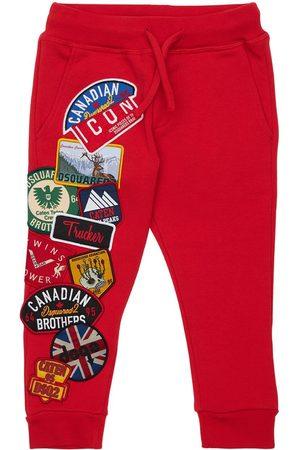 Dsquared2 Meisjes Joggingbroeken - Cotton Sweatpants W/ Patches