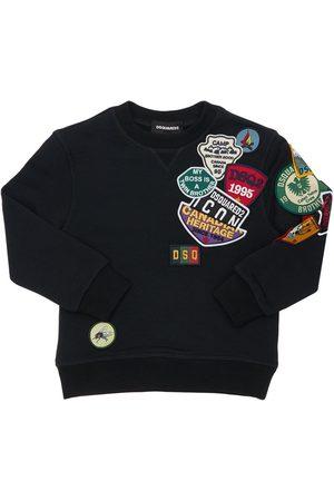 Dsquared2 Meisjes Sweaters - Cotton Sweatshirt W/ Patches