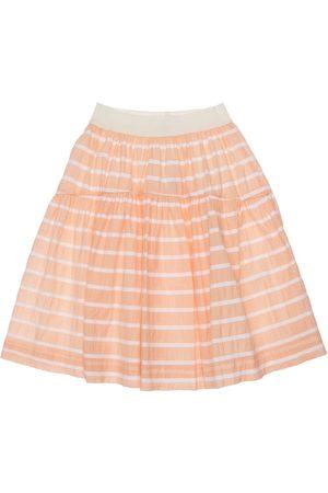 Unlabel Meisjes Rokken - Striped Cotton Blend Skirt