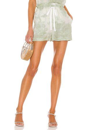 Bella Dahl Dames Shorts - Paper Bag Pocket Short in