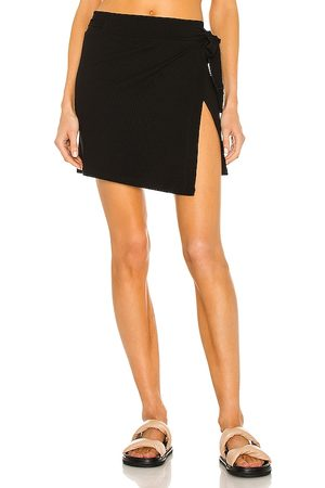 LnA Carusso Wrap Skirt in