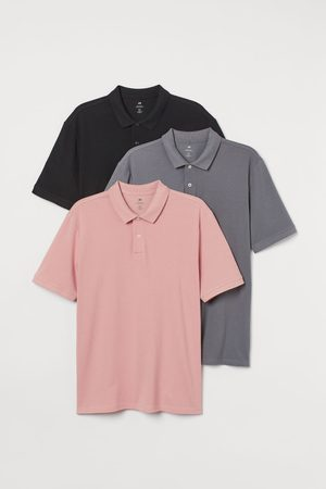 H&M Set van 3 polo's - Regular Fit