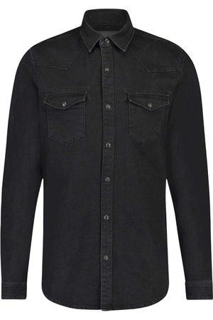 Purewhite Simfit jeans shirt