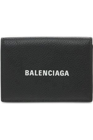 Balenciaga Heren Portemonnees - Logo Leather Wallet