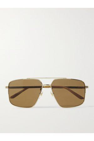 Gucci Heren Zonnebrillen - Aviator-Style -Tone Sunglasses