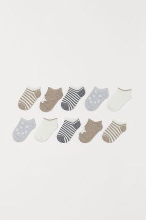 H&M Meisjes Sokken - 10 paar enkelsokken