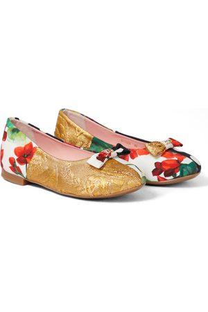 Dolce & Gabbana Patchwork di Sicilia ballet flats