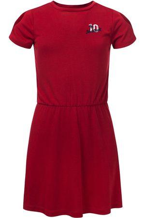 LOOXS Revolution Jurkje linnen look voor meisjes in de kleur