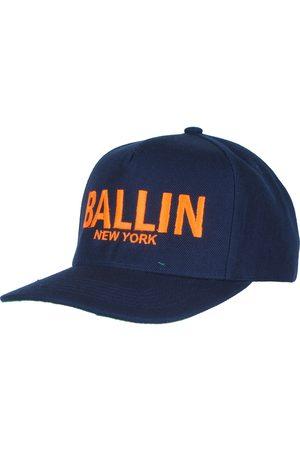Ballin New York Ballin snapback cap unisex navy neon oranje