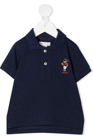 Ralph Lauren Poloshirts - Polo Bear embroidered polo shirt