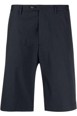 Etro Heren Bermuda's - Knee-length tailored cotton shorts
