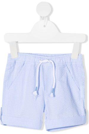 PATACHOU Shorts - Seersucker cotton shorts