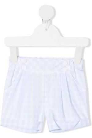 PATACHOU Shorts - Gingham cotton shorts