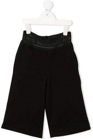 Balmain Logo-band track trousers