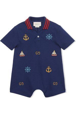 Gucci Nautical motif shorties