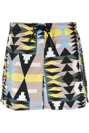 MARCELO BURLON Heren Shorts - Navaho swimming shorts