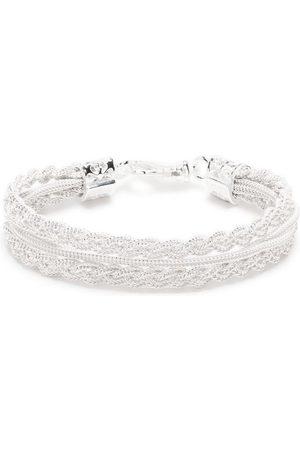 EMANUELE BICOCCHI Heren Armbanden - Ice braided bracelet