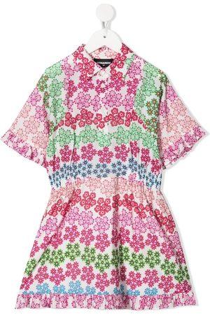 Dsquared2 Meisjes Casual jurken - Floral-print dress