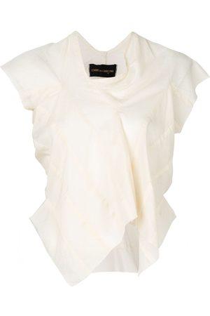 Comme des Garçons Dames Blouses - 1997 asymmetric blouse