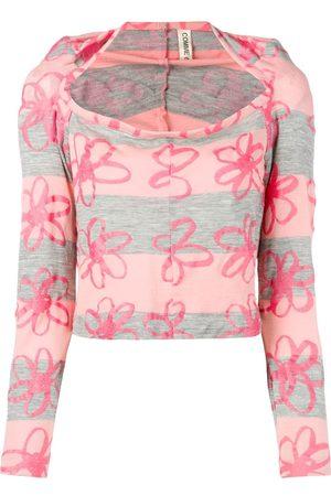 Comme des Garçons Dames Blouses - 1996's floral blouse