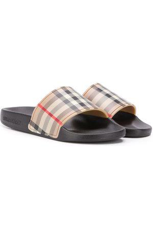 Burberry Jongens Slippers - Vintage Check slides