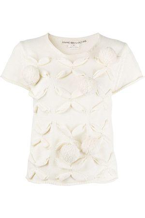 Comme des Garçons 2003 pompom embellished knitted T-shirt
