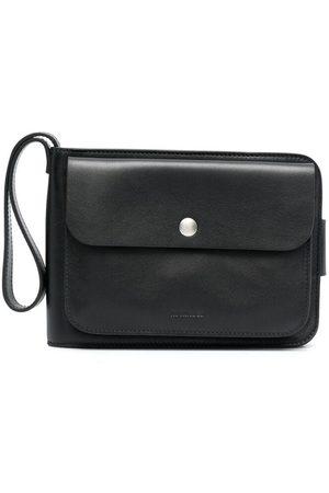 Jil Sander Heren Portemonnees - Embossed logo multi-pocket wallet