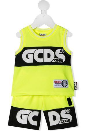 GCDS Logo-print tracksuit set