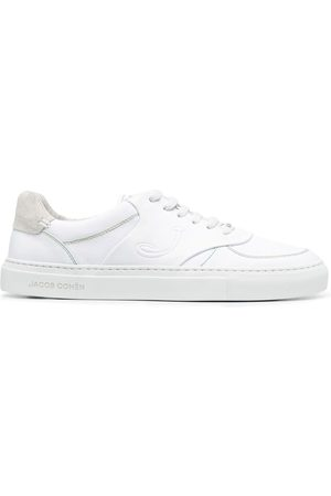 Jacob Cohen Heren Lage sneakers - Embroidered-logo tongue sneakers