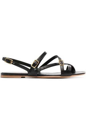 Tod's Dames Sandalen - Crossover buckled sandals