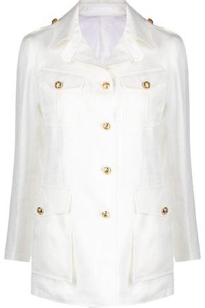 TAGLIATORE Dames Leger jassen - Belted button-detail jacket