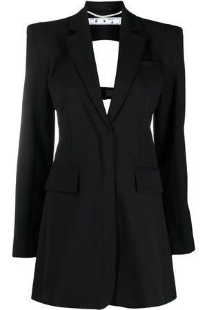 OFF-WHITE Cut-out blazer dress